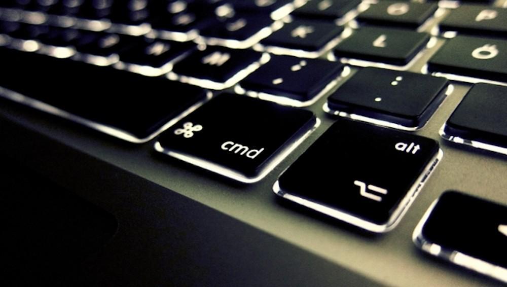 Сочетания клавиш Mac