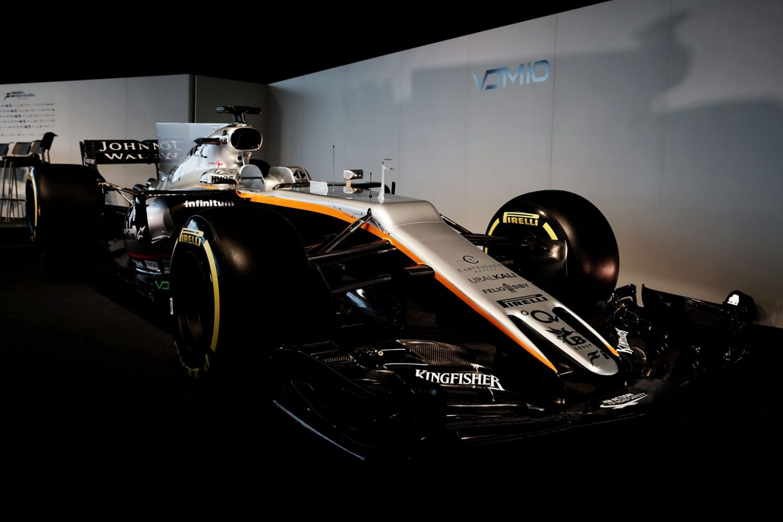 Презентация болидов Формулы-1 сезон 2017: Force India VJM10