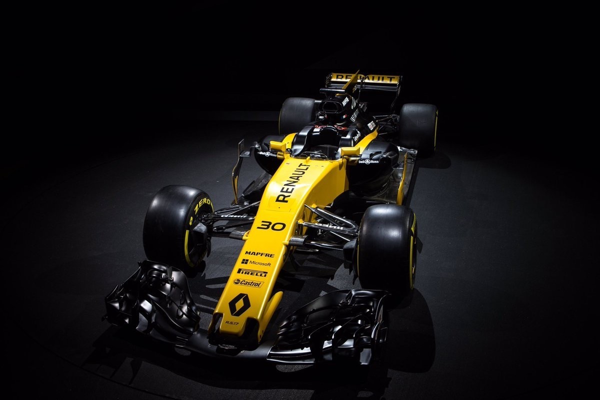 Презентация болидов Формулы-1 сезон 2017: Renault R.S. 17