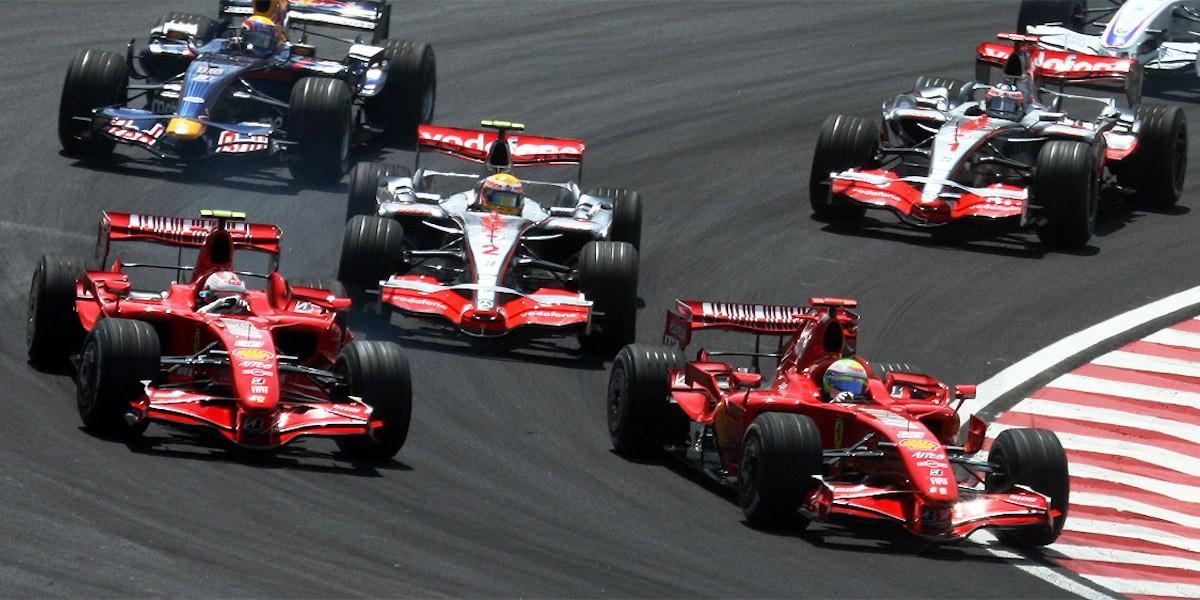 Kimi Raikkonen 2007 Brazil GP
