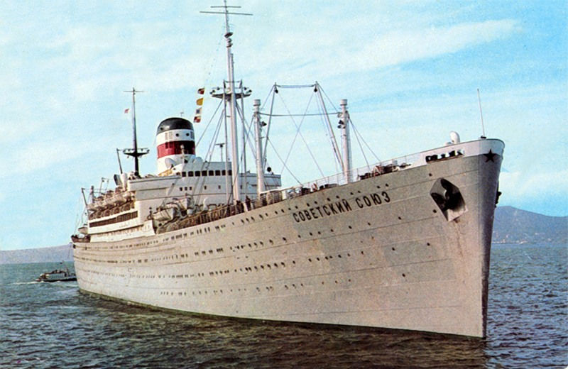 1970-е. «Советский Союз» покидает Авачинскую бухту