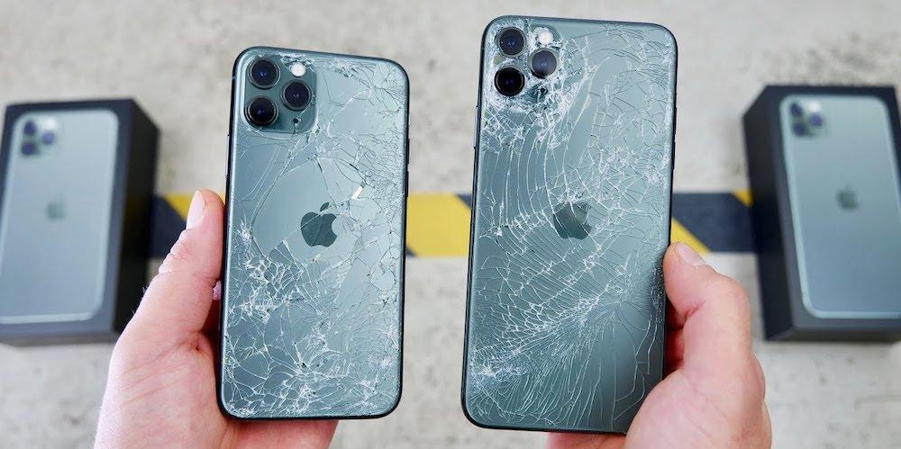 Тест на падение новых айфон 11 про макс