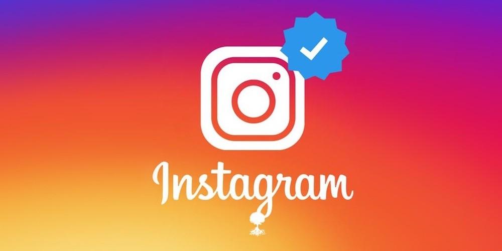 blue check mark on instagram