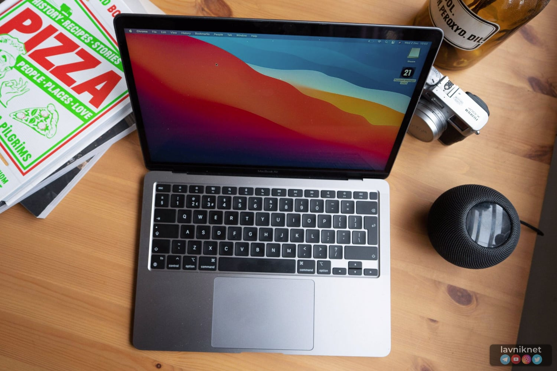 Доля ноутбуков с процессорами Apple на глобальном рынке достигла 1%
