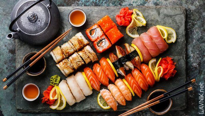 Заказать суши и роллы на день рождения в городе Новокузнецк - почему бы и нет