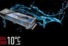 SSD диски с жидкостным охлаждением